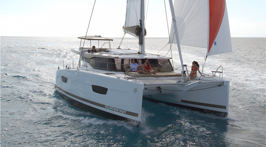 Fountaine Pajot Lucia 40 REVIEW - Small boat with immense