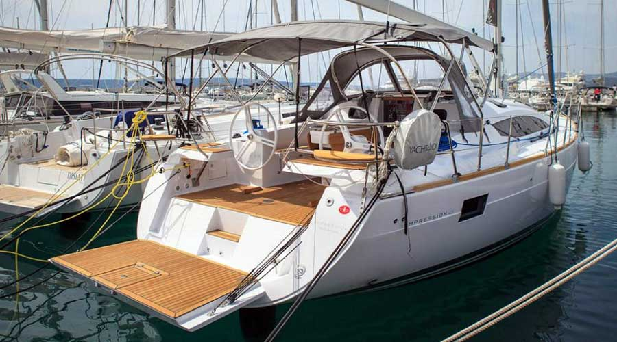 8c51ff89bb The electronic platform allows for easy loading of the ship on the dock.  The dodger on the boat has a very solid handrail which prevents you from  moving ...