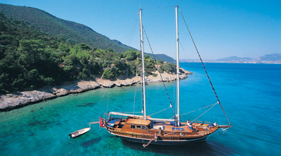 Rent a boat in Turkey